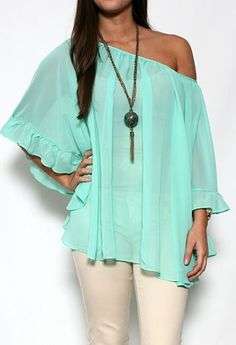 Chiffon Oversized Top #PGpackinglist #privategallery
