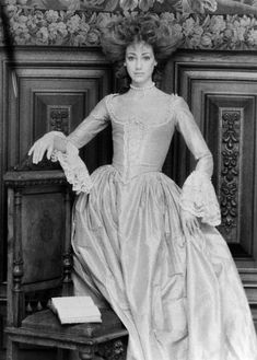 "Marisa Berenson in ""Barry Lyndon"" 1975. Costumes by Milena Canonero."