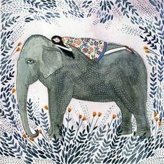 'Elephant Dream' print by Yelena Bryksenkova