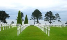 American National Cemetary, Omaha Beach, France.  The most peaceful place I have ever been!