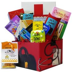Art of Appreciation Gift Baskets Doctors Orders Get Well Soon Care Package Box. Art of Appreciation Gift Baskets Doctors Orders Get Well Soon Care Package Box Art of Appreciatio Get Well Gift Baskets, Gift Baskets For Women, Get Well Gifts, Gourmet Gift Baskets, Gourmet Gifts, Get Well Flowers, Tea Box, Get Well Soon, Box Packaging