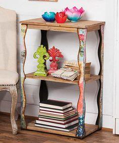Boho Bookshelf