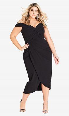 dd2b3e48cf38a Rippled Love Dress. City Chic DressesBeach DressesPlus Size ...