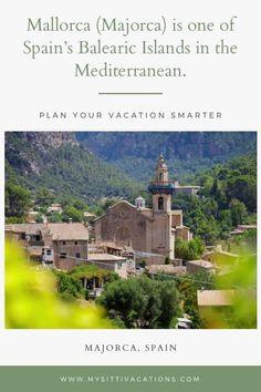 Mallorca (Majorca) is one of Spain's Balearic Islands in the Mediterranean. #pursuepretty #makeadventure #travelhappy #vacation #darlingmovement
