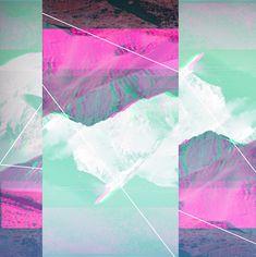 "Glitch/multicolor / ""Default Mode Network"" — Designspiration"