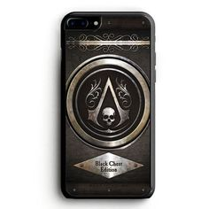 Assassins Creed Black Flag logo iPhone 6S Case   yukitacase.com