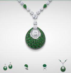Graff Bombe Emerald