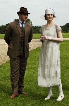 Downton Abbey ~ Tom Branson & Lady Mary Crawley