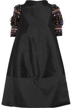 Biyan Alana embellished shantung dress | NET-A-PORTER