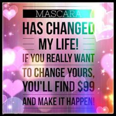 Younique mascara is great, I ordered it, fell in love and the rest is history. Younique is so much more than the mascara, it is about empowering women and making them feel beautiful! It is a ton of fun to be a Younique presenter, you have the opportunity to make a great income, earn vacations, and get free makeup. Learn about becoming a Younique presenter by clicking the photo