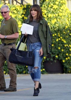 Actress Katharine McPhee films scenes for 'Scorpion' in Los Angeles, California on March 19, 2014.