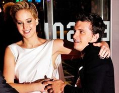 Jennifer Lawrence, and Josh Hutcherson