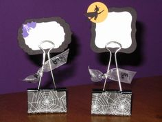 Halloween Binder Clips by Ioana - Cards and Paper Crafts at Splitcoaststampers