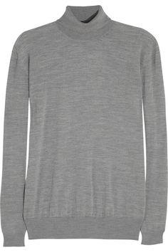 Stella McCartney|Fine-knit wool turtleneck sweater|NET-A-PORTER.COM