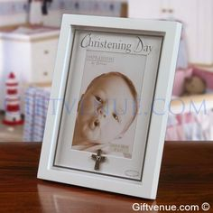 New Baby Christening Frame. Gifts for a Christening