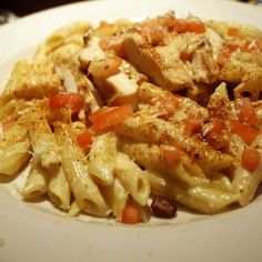 Chili's Cajun Chicken Pasta Review: I have to work on the chicken part of this recipe, it just wasn't Chili's copycat. The pasta, however, was pretty close. Although the recipe, as a whole, didn't taste identical to Chili's Cajun Chicken pasta, it was a good  recipe that I will attempt again.