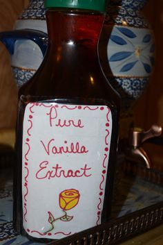 Homemade Vanilla Extract - Mrs Happy Homemaker
