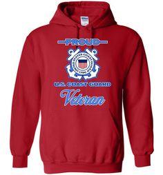 Proud U.S. Coast Guard Veteran Hoodie