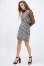 $30 Topshop Long sleeve bandage bodycon dress  #Promoted #Sponsored #Affiliated #PaidAd #Fashion #HolidayParty #party