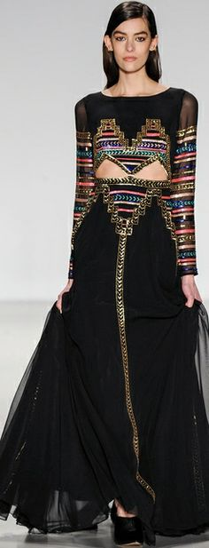 Mercedes Benz: New York Fashion Week, Mara Hoffman Otoño Invierno Style Haute Couture, Couture Fashion, Runway Fashion, Fashion Beauty, Fashion Week, High Fashion, Fashion Show, Fashion Design, Fashion Trends
