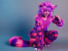cheshire cat costume. I want to do this one year!