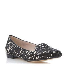 89d8379c016c DUNE LADIES LIMBO - Slip On Slip-on Shoe - black white
