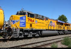 RailPictures.Net Photo: 7964 Union Pacific GE ES44AC at Greeley, Colorado by Nathan Zachman