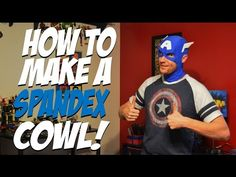 How to Make a Spandex Cowl! - Creative Costuming - YouTube
