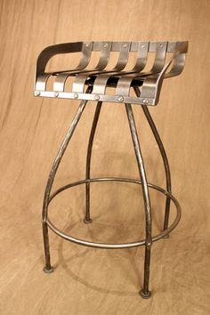 iron tractor seat bar stool