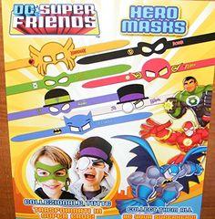 DC Batman Justice League Hero and Villains Masks Toys Party Favors Halloween Costume Accessories Set of 7 DC Masks http://www.amazon.com/dp/B00NH4HICE/ref=cm_sw_r_pi_dp_Y4SQvb0C96ST6