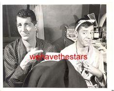 Vintage Dean Martin & Jerry Lewis CANDID BACKSTAGE CHICAGO '50 PRESS Portrait | eBay