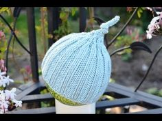 How to Knit A New Born Baby s Hat For Beginners - YouTube Projetos De Tricô 10ef582736a