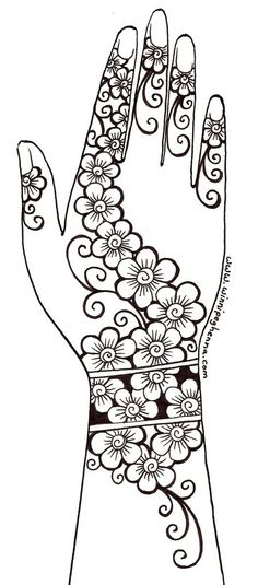 image about Henna Templates Printable referred to as 52 Most straightforward henna stencils illustrations or photos inside 2017 Henna, Henna