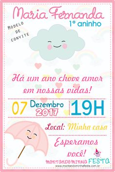 Discover recipes, home ideas, style inspiration and other ideas to try. Half Birthday, 2nd Birthday Parties, Maria Valentina, Party Decoration, Baby Cards, Holidays And Events, Baby Shower Invitations, Baby Room, New Baby Products
