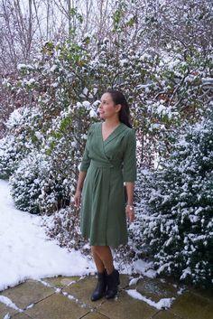 Geschichten eines 1940s Wrap Kleides – Tales of a Sew Over It 1940s Wrap Dress – Sleepless in Bavaria