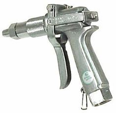 "JD9-C Green Garde Spray Gun by Hudson - JD9C with Large Nozzle by Rittenhouse. $130.99. Adjusts from fine fog to long-distance pencil stream.. Maximum pressure of 1000 psi.. Trigger lock for continuous spraying.. Includes Large nozzle.. Inlet: 3/4"" Female Garden Hose Thread (FGHT).. This genuine Green Garde spray gun by Hudson is a top-of-the-line professional spraying tool found in many commercial greenhouses.  Very durable and capable of being rebuilt, the JD9-C can litera..."