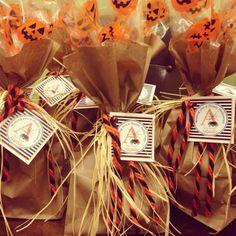 Halloween school buddy goodie bags