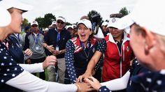 SportsDezk's blog.: Golf:United States regain Solheim Cup after contro...