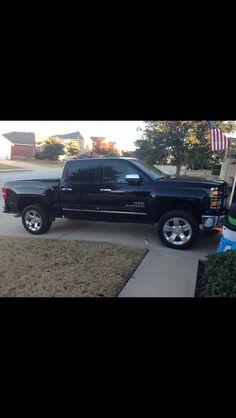 Black 2014 GMC Sierra truck