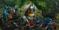 Hommes Lézards, par (auteur inconnu), in Warhammer Battle, par Games Workshop