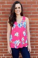 Everly Fabulous Floral Tank | Everleigh Boutique