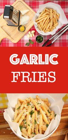 Garlic Parmesan Fries! @mccaincanada