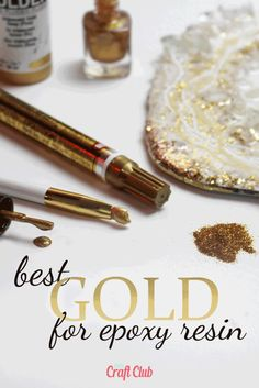 Crafts Best Gold To Color Epoxy Resin Epoxy Resin Table, Epoxy Resin Art, Diy Resin Art, Diy Epoxy, Diy Resin Crafts, Resin Molds, Diy Resin Mold, Diy Resin Projects, Resin Uses