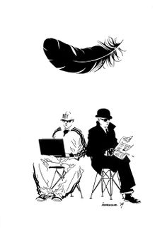 Pet Shop Boys by Stuart Immonen *