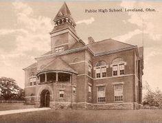 Old Ohio Schools - Clermont County Loveland Ohio, School Building, Bike Trails, Train Station, Cincinnati, Old Photos, Notre Dame, Schools, Abandoned