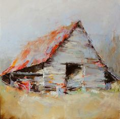 Decaying Beauty - Susie Pryor oil on canvas, 30 x 30, $4200 SOLD