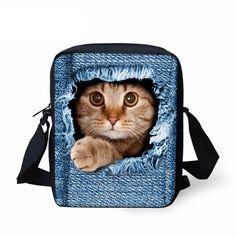 c925bbbdd3 Cat Messenger Bags 6. Teen KidsKids GirlsBaby ...