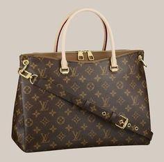 Louis Vuitton pallas Handbag In Havane