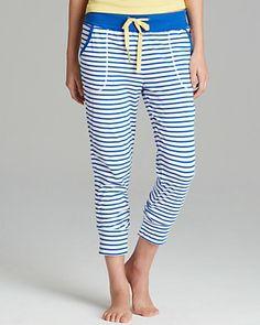 Jane & Bleecker New York Striped Ribbed Pants