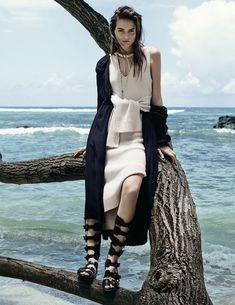agne konciute by alex bramall for vogue russia april 2015 | visual optimism; fashion editorials, shows, campaigns & more!